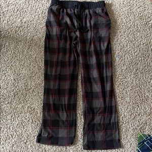 Black nautica men's sleepwear pants size M